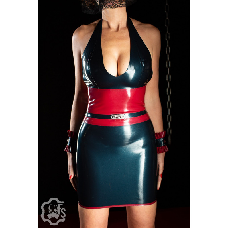Jade Latex Dress