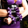 Bracelet Modulable En  Latex Midlechoux Purple