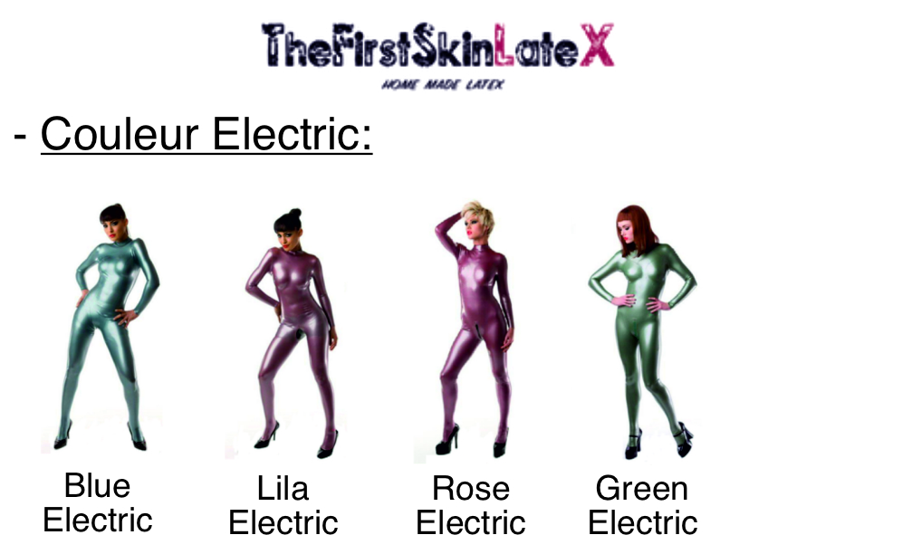 Latex Electrical Colors For Clothing and Accessories